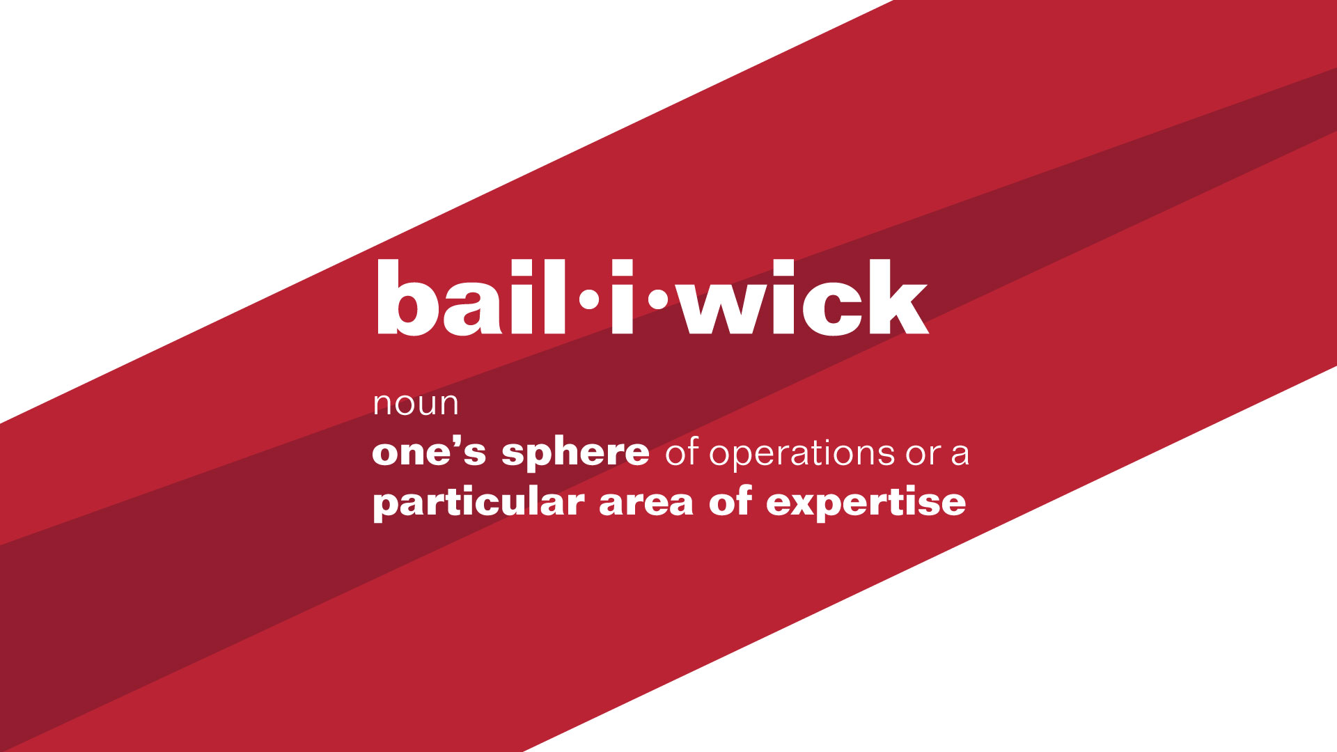 Bailiwick definition image